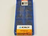KORLOY INSERTS WNMG080404-MP NC3225 (1-02-057187)