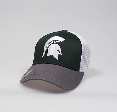 "Michigan State Spartans Adjustable ""One Size Fits Most"" Hat - Mesh Back"