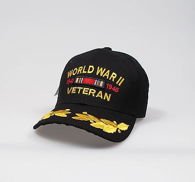 "World War II Vet Adjustable ""One Size Fits Most"" Hat"