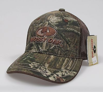 "Mossy Oak Adjustable ""One Size Fits Most"" Camo Hunting Cap"