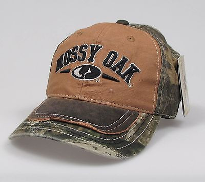 "Mossy Oak Adjustable ""One Size Fits Most"" Hunting Cap"