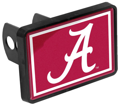 Alabama Crimson Tide A Universal 1-1/4 x 2 Inch Hitch Cover