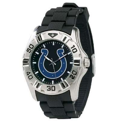 Game Time NFL MVP Series Watch (Indianapolis Colts Black)