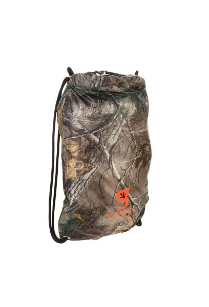 Geckobrands Waterproof Drawstring Backpack - Realtree Xtra Camo