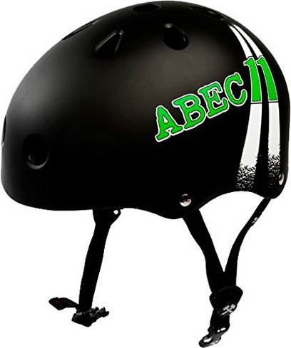 ABEC11 Highway Medium-Black Skateboard Helmet