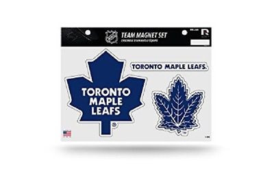 "Toronto Maple Leafs Team Magnet Set 8.5"" x 11"" Blue"