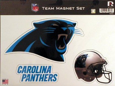 "Carolina Panthers Team Magnet Set 8.5"" x 11"""