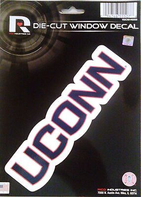 Connecticut (UConn) Huskies Medium Die-Cut Window Decal