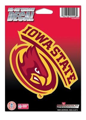 Iowa State Cyclones Medium Die-Cut Window Decal