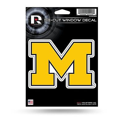 Michigan Wolverines Medium Die-Cut Window Decal