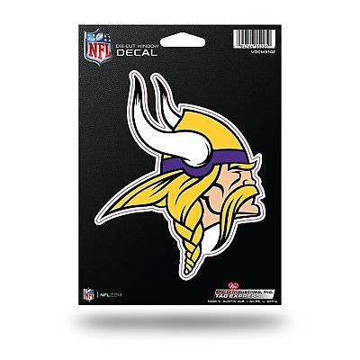 Minnesota Vikings Medium Die-Cut Window Decal