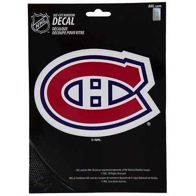 Montreal Canadiens Medium Die-Cut Window Decal