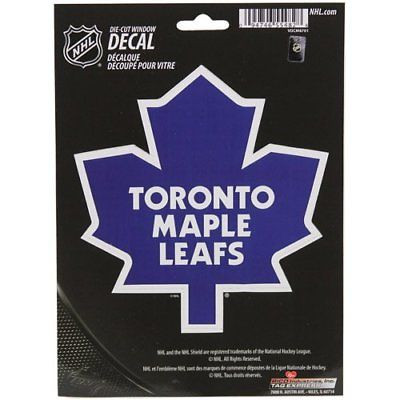 Toronto Maple Leafs Medium Die-Cut Window Decal