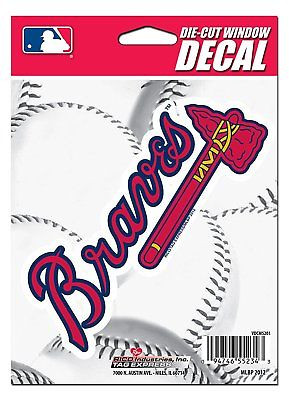 Atlanta Braves Medium Die-Cut Window Decal
