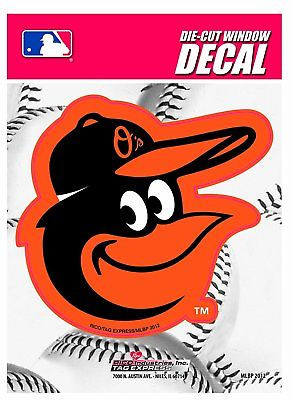 Baltimore Orioles Medium Die-Cut Window Decal