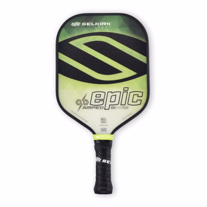 Selkirk Epic AMPED X5 Pickleball Paddle - Midweight - Emerald Green
