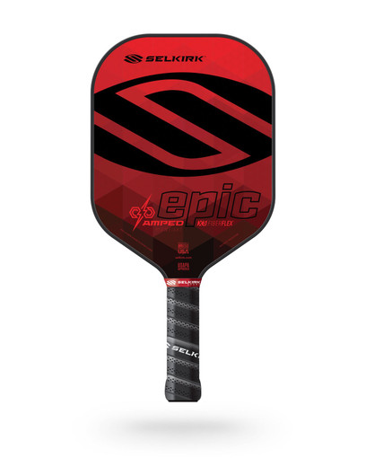 Selkirk 2021 Epic AMPED X5 Pickleball Paddle - Midweight - Ruby Red