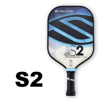 Selkirk S2 AMPED X5 Pickleball Paddle - Midweight - Sapphire Blue