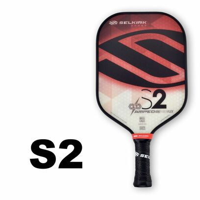 Selkirk S2 AMPED X5 Pickleball Paddle - Midweight - Ruby Red
