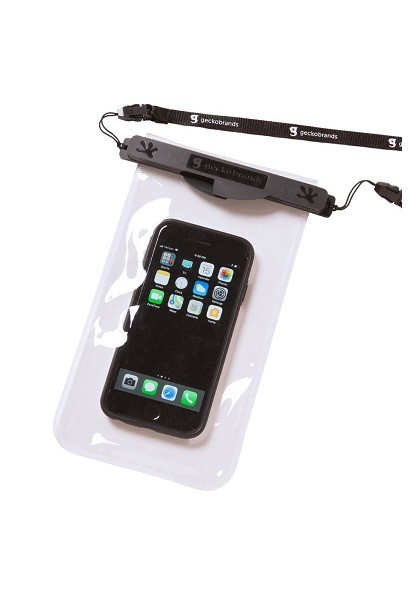 Geckobrands Waterproof Magnetic Phone Dry Bag - Black