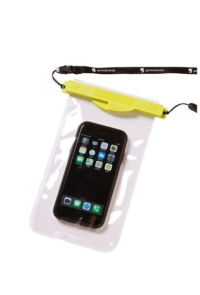 Geckobrands Waterproof Magnetic Phone Dry Bag - Green