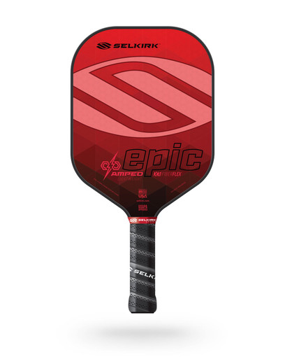 Selkirk 2021 Epic AMPED X5 Pickleball Paddle - Lightweight - Ruby Red