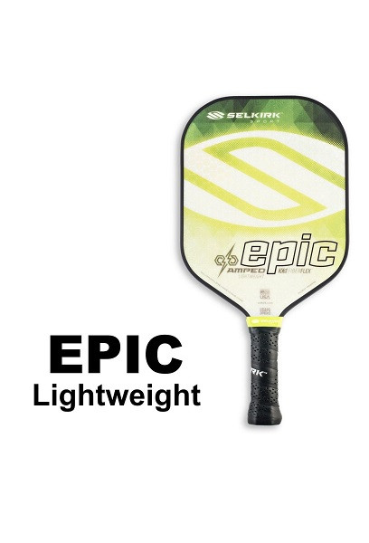 Selkirk Epic AMPED X5 Pickleball Paddle - Lightweight - Emerald Green