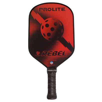 "Pro-Lite ""Rebel Power Spin"" Pickleball Paddle - Red"