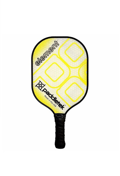 Paddletek Element Pickleball Paddle - Yellow
