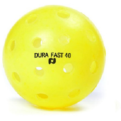 DURA Fast 40 Outdoor Pickleballs - Yellow