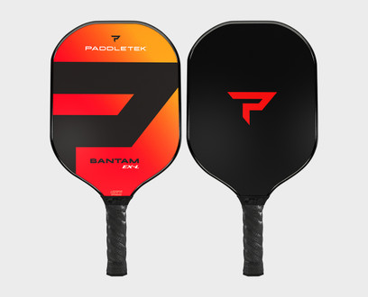 Paddletek Bantam EX-L Pickleball Paddle - Wildfire (Red)