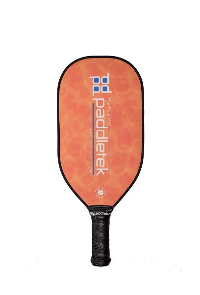 Paddletek Horizon Elongated Pickleball  Paddle - Orange