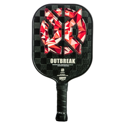 ONIX Outbreak Graphite Pickleball Paddle - Red
