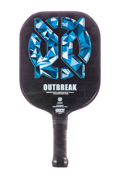 ONIX Outbreak Graphite Pickleball Paddle - Blue