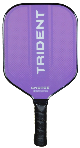 Engage Trident Pickleball Paddle- Purple
