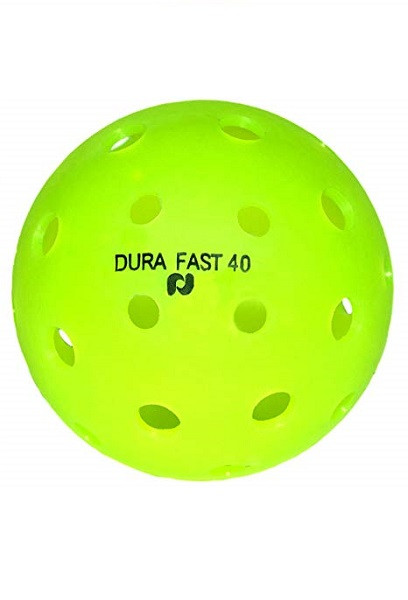DURA Fast 40 Outdoor Pickleballs - Neon