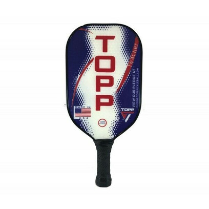 TOPP Reacher Composite Pickleball Paddle - Navy/Red