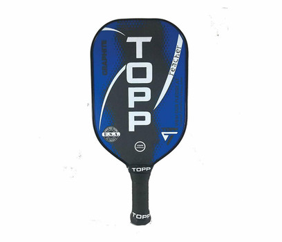 TOPP Reacher Graphite Pickleball Paddle - Blue/White