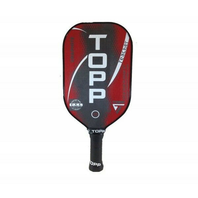 TOPP Reacher Graphite Pickleball Paddle - Red/White