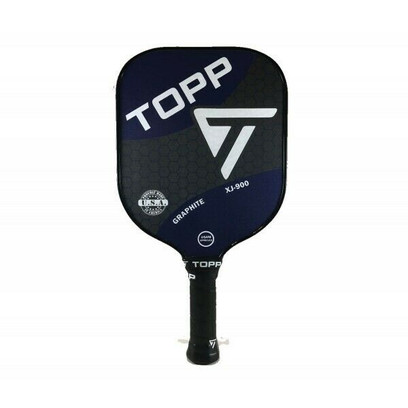 TOPP XJ-900 Graphite Widebody Pickleball Paddle - Navy/White