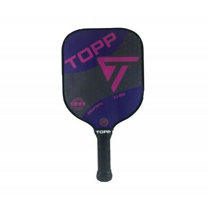 TOPP XJ-900 Graphite Widebody Pickleball Paddle - Purple/Pink