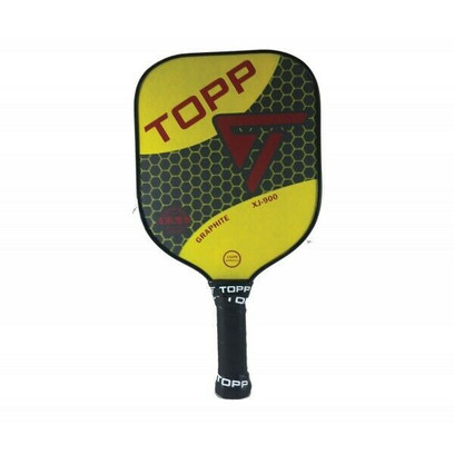 TOPP XJ-900 Graphite Widebody Pickleball Paddle - Yellow/Red
