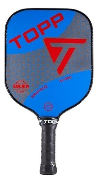 TOPP XJ-900 Graphite Widebody Pickleball Paddle - Blue/Red