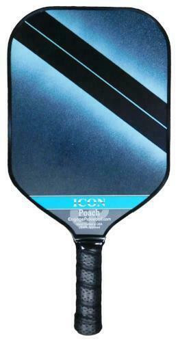 Engage Poach Icon Midweight Pickleball Paddle - Aqua