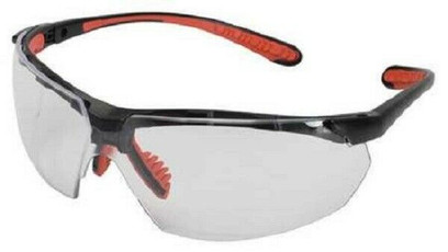 A - V40 Maxfire Safety Glasses With Clear Anti-Fog, Scratch-Resistant Lens