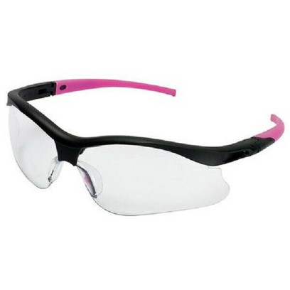 I - V30 Nemesis Safety Glasses With Clear Anti-Fog, Scratch-Resistant Lens