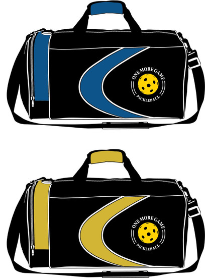 """One More Game"" Pickleball Duffel"