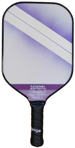 Engage Poach Icon Lightweight Pickleball Paddle - Purple