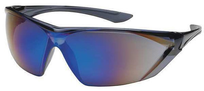 Q - Bullseye Safety Glasses With Blue Anti-Fog, Scratch-Resistant Lens