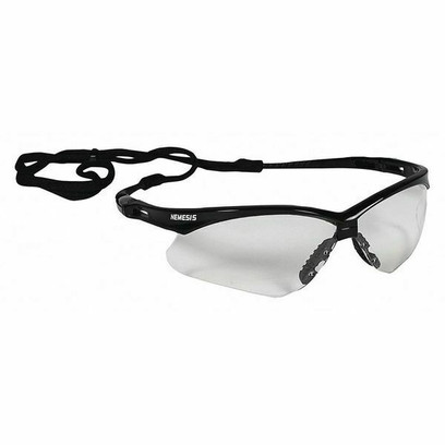 M - V30 Nemesis Safety Glasses, Clear, Anti- Fog, Scratch-Resistant